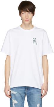 Rag & Bone White Namaste T-Shirt