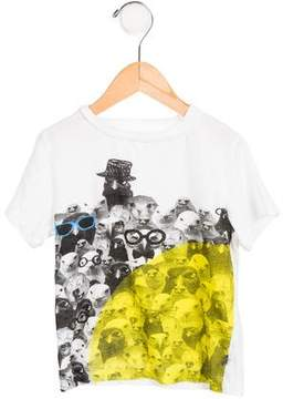 Stella McCartney Boys' Short Sleeve Graphic T-Shirt