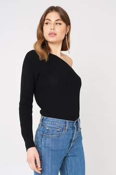 NA-KD Na Kd One Shoulder Oversize Knitted Sweater