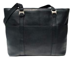 Piel Leather COMPUTER TOTE BAG