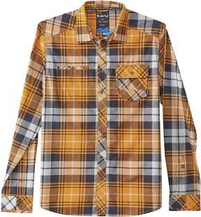 Kavu Douglas Flannel Shirt
