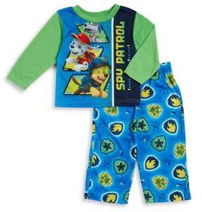 AME Sleepwear Little Boys Spy Patrol Pajama Set