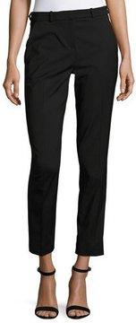 BA&SH Thun Mid-Rise Crepe Straight-Leg Pants