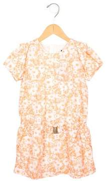 Chloé Girls' Printed Short Sleeve Dress w/ Tags
