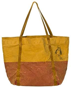 Bobo Choses Mustard Loup Bicolor Tote Bag