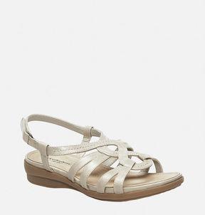 Avenue Mona Swirl Slingback Wedge Sandal