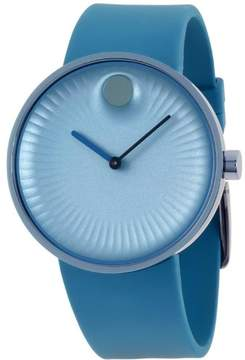 Movado Edge Blue Dial Ladies Watch 3680042