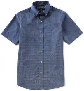 Daniel Cremieux Geo Circle Print Short-Sleeve Woven Shirt