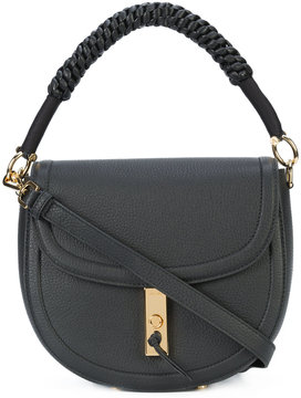 Altuzarra woven handle saddle bag