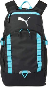 Puma Black & Teal Evercat Fraction Laptop Backpack