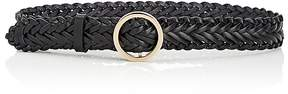 MAISON BOINET Women's Braided Leather Belt