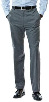 Haggar Men's Straight-Fit Flat-Front Suit Pants