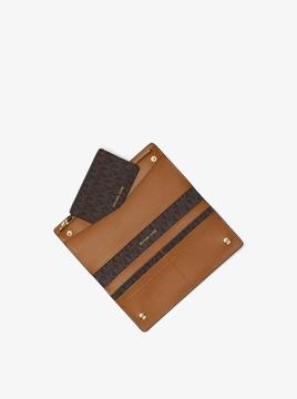 MICHAEL Michael Kors Logo Slim Wallet