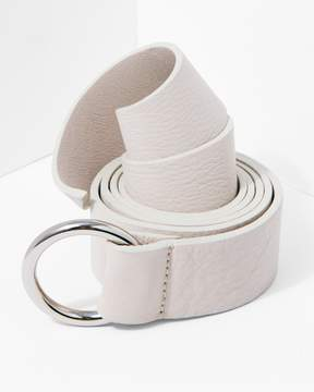7 For All Mankind B-Low The Belt Mia Wrap in Bone Silver