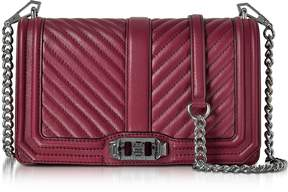 Rebecca Minkoff Beet Chevron Quilted Leather Love Crossbody Bag - ONE COLOR - STYLE