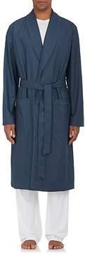 Hanro Men's Henry Cotton Long Robe