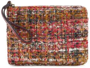 Patricia Nash Boucle Tapestry Collection Cassini Wristlet