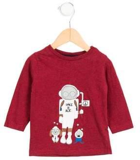 Little Marc Jacobs Boys' Long Sleeve Graphic Shirt