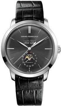 Girard Perregaux 1966 Grey Dial 18kt White Gold Automatic Men's Watch