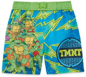 Trunks LICENSED PROPERTIES Teenage Mutan Ninja Turtles Swim Toddler Boys