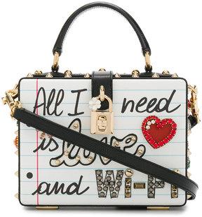 Dolce & Gabbana Dolce Box Bag with appliqué