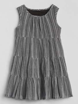 Gap Crinkle Tiered Dress