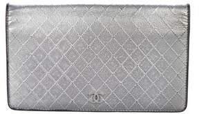 Chanel Metallic Yen Wallet