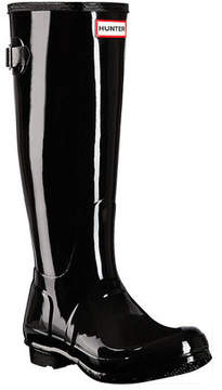 Hunter Women's Back Adjustable Gloss Rain Boot