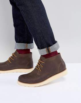Eastland Jack Chukka Leather Boots In Brown
