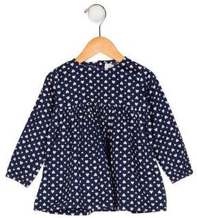 Rachel Riley Girls' Printed Long Sleeve Blouse