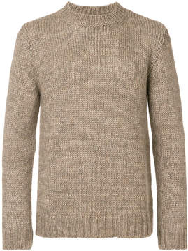 White Mountaineering classic fitted sweater