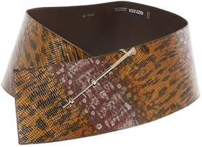 Kenzo Leather belt