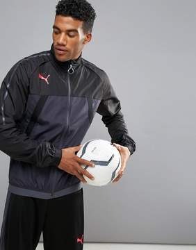 Puma Soccer evoTRG Thermo Training Jacket In Black 65532506