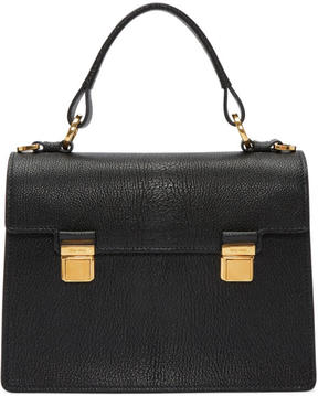Miu Miu Black Double Lock Bag