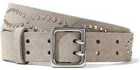 Rag & Bone Studded Suede Belt