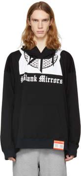 Miharayasuhiro White Blank Mirrors Printed Hoodie