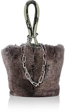 Alexander Wang Women's Roxy Rabbit Fur Mini Bucket Bag