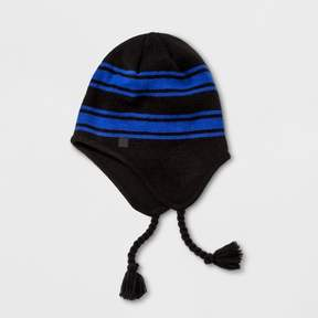Champion Boys' Stripe Peruvian Hat Black/Blue One Size