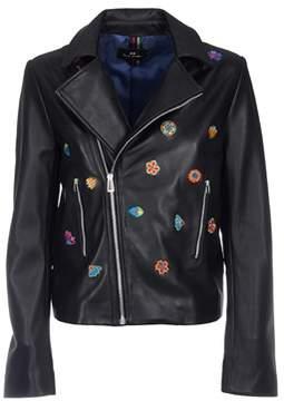 Paul Smith Women's Black Leather Jacket.