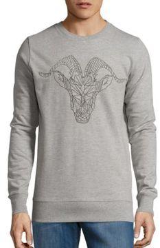 Markus Lupfer Chainlink Ram Sweatshirt