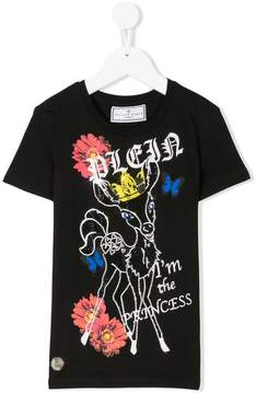Philipp Plein Junior I'm The Princess T-shirt