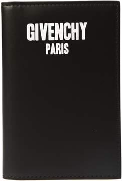 Givenchy Logo Print Wallet