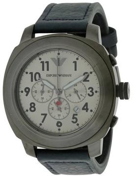 Giorgio Armani Emporio Sport Leather Mens Watch AR6086