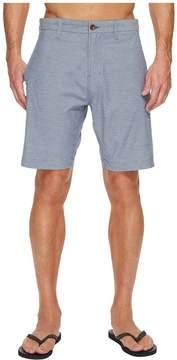VISSLA Four Doors Four-Way Stretch Heathered Hybrid Walkshorts 19 Men's Shorts