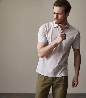 Reiss Daniel Short Sleeved Pique Polo