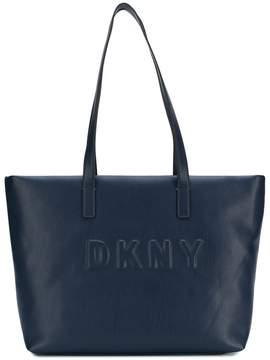 DKNY large logo tote