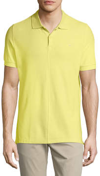 J. Lindeberg Men's Solid Polo Shirt