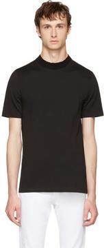 Maison Margiela Black Knit Crewneck T-Shirt