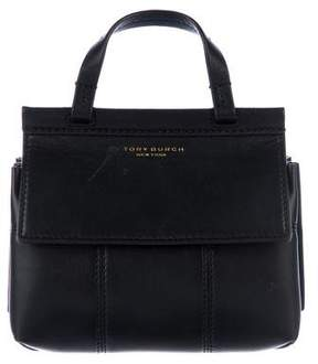 Tory Burch Mini T Satchel - BLACK - STYLE