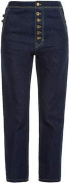 Ellery Monroe high-rise slim-leg jeans